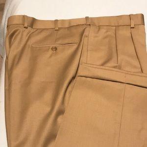 Men's wool dress pants